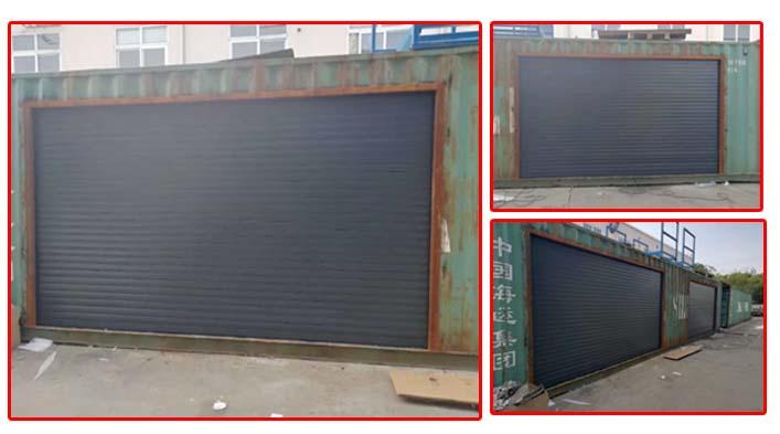 上海悦图动力再次采购上海加和铝合金电动卷帘门
