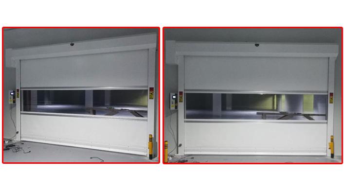专用的快速卷帘门   上海加和门业是专业的厂家