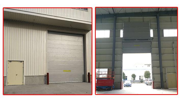 上海加和门业——厂房车间专业配套的工业滑升门厂家