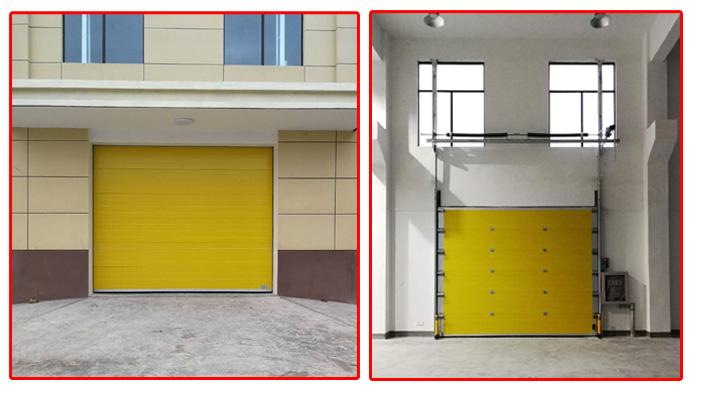 大家都在用上海加和门业   配套使用的工业滑升门