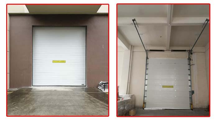 上海鲁聚车间配用上海加和工业滑升门