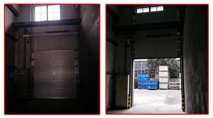 上海同舟汽车配件  又来上海加和门业采购工业滑升门