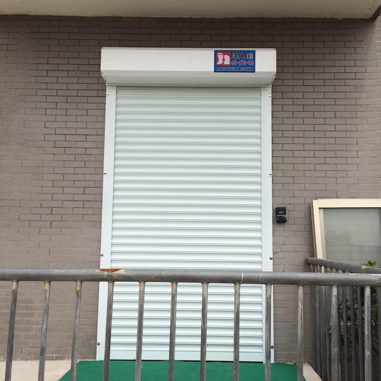 工业卷帘门的安装方式