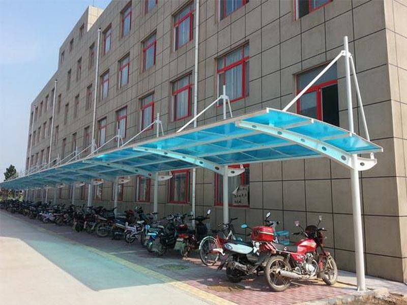自行车棚 生产