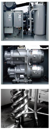 两级压缩永磁变频空压机