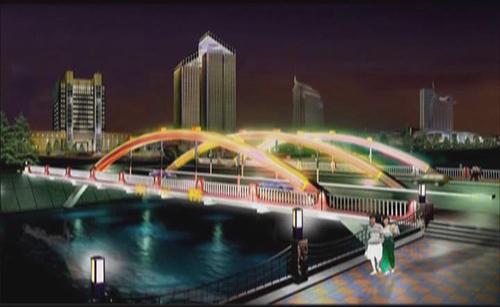 成都府南河照明工程