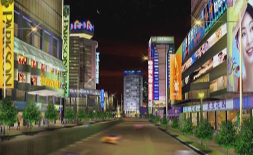 成都市春熙路照明工程