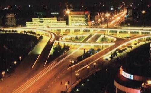 成都市立交桥照明工程