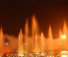 蕪湖吉和廣場音樂噴泉實景