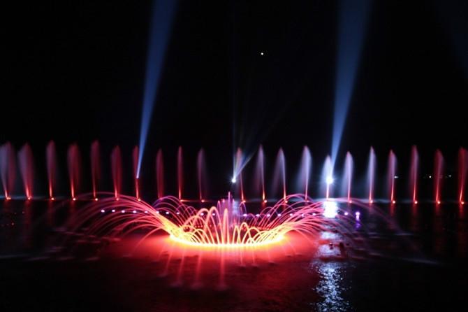 云南丘北普者黑音乐喷泉
