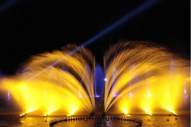 多媒体音乐喷泉