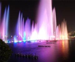 南昌秋水廣場噴泉實景