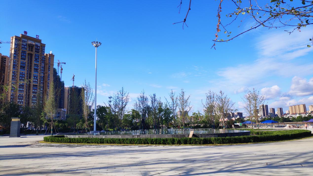 德阳市同森锦樾市政广场喷泉项目