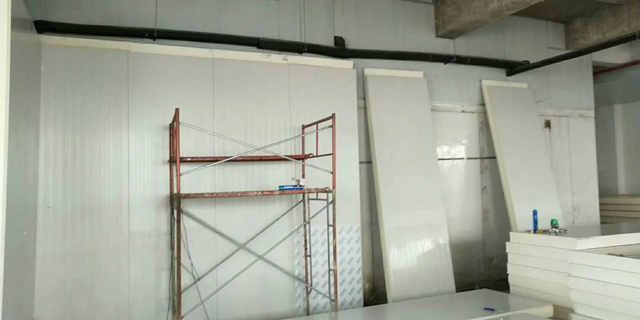 广东水果冷库施工现场
