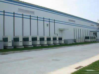 陕西汉中百特纸业股份公司3000平方物流冷库建设