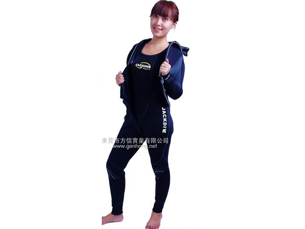 Professional diving suit - two-piece suit4