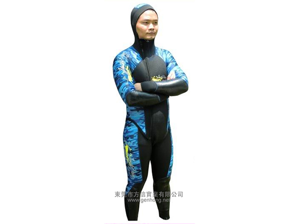 Professional diving suit - two-piece suit5.
