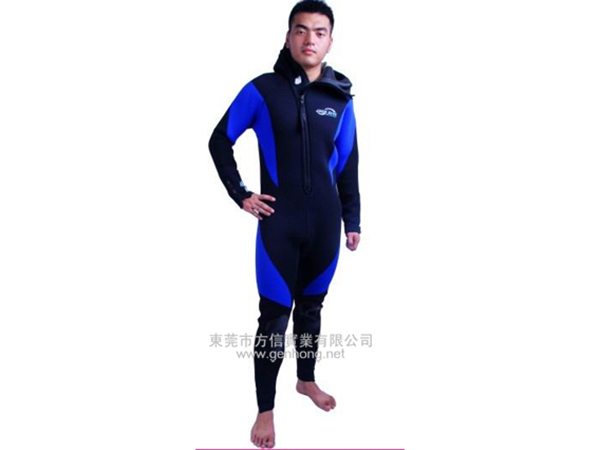Professional diving suit - two-piece suit2