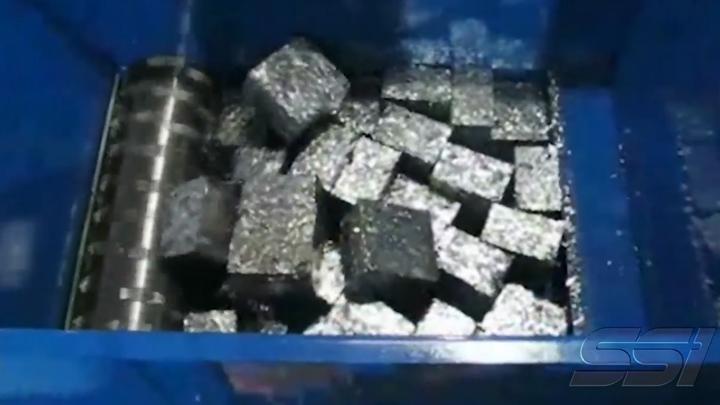 有色金属:铝片压块