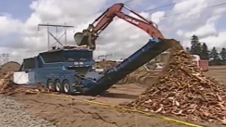 木材破碎:木桩(PR4400)