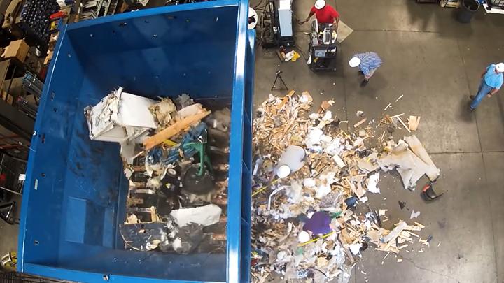 生活垃圾:大件垃圾(粗破碎机)