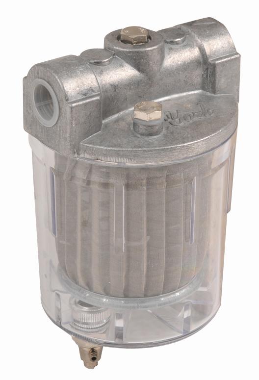 燃烧机配件-大号透明油过滤器