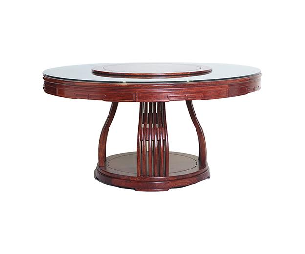 文华圆餐桌