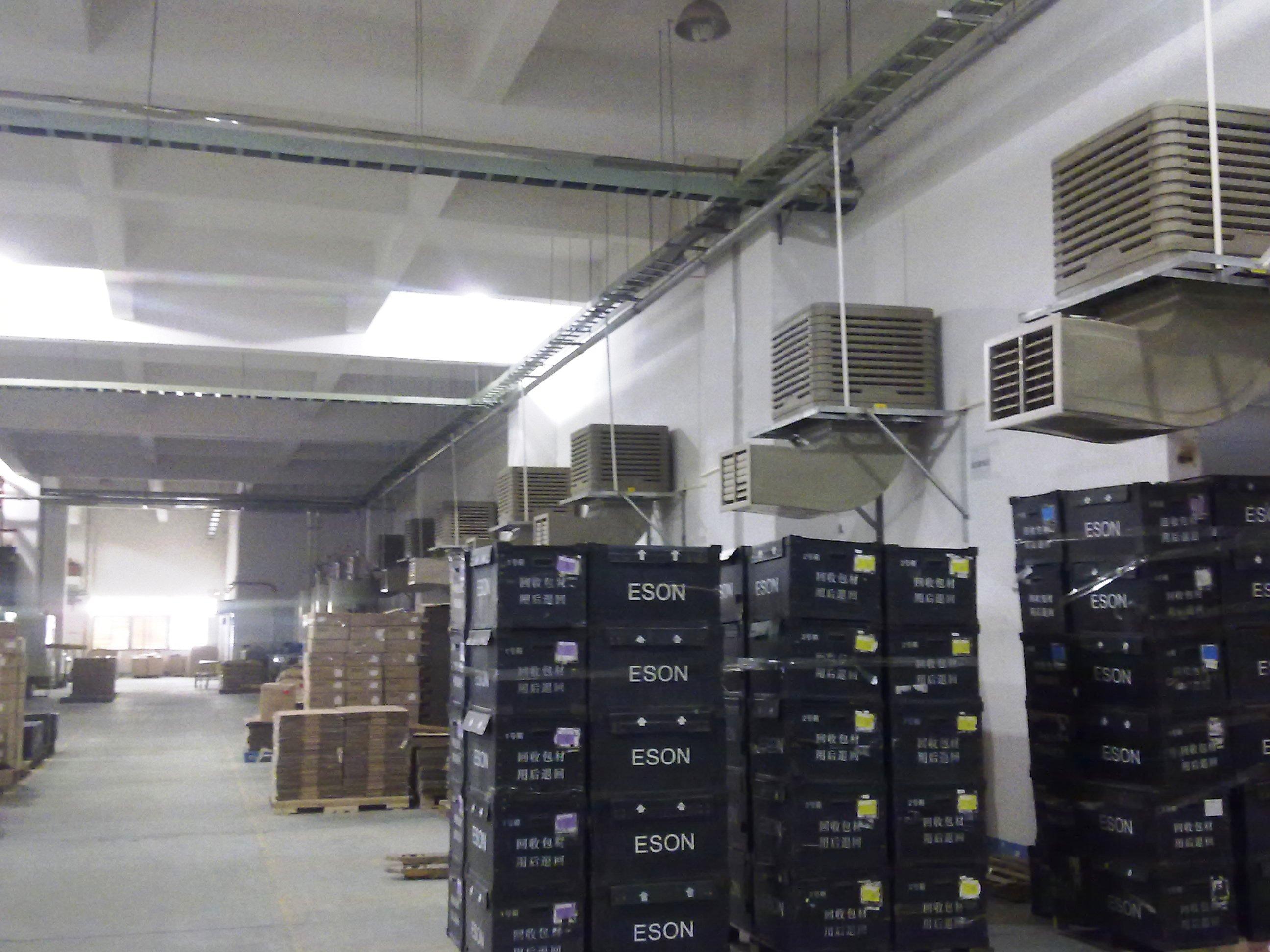 注塑车间水空调整廠降溫