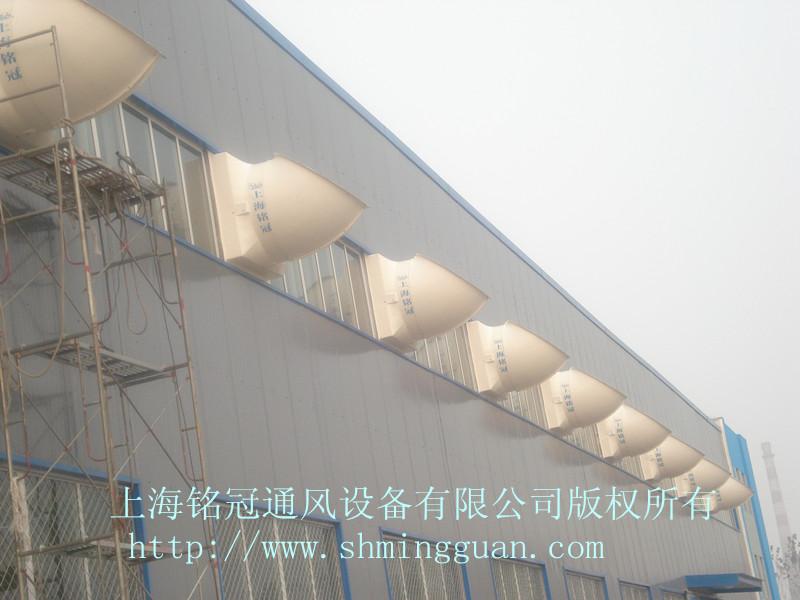 风机壁面安装实例