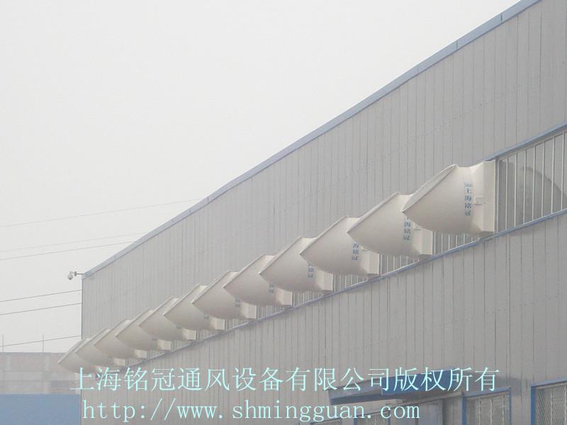 负压风机壁面安装工程实例