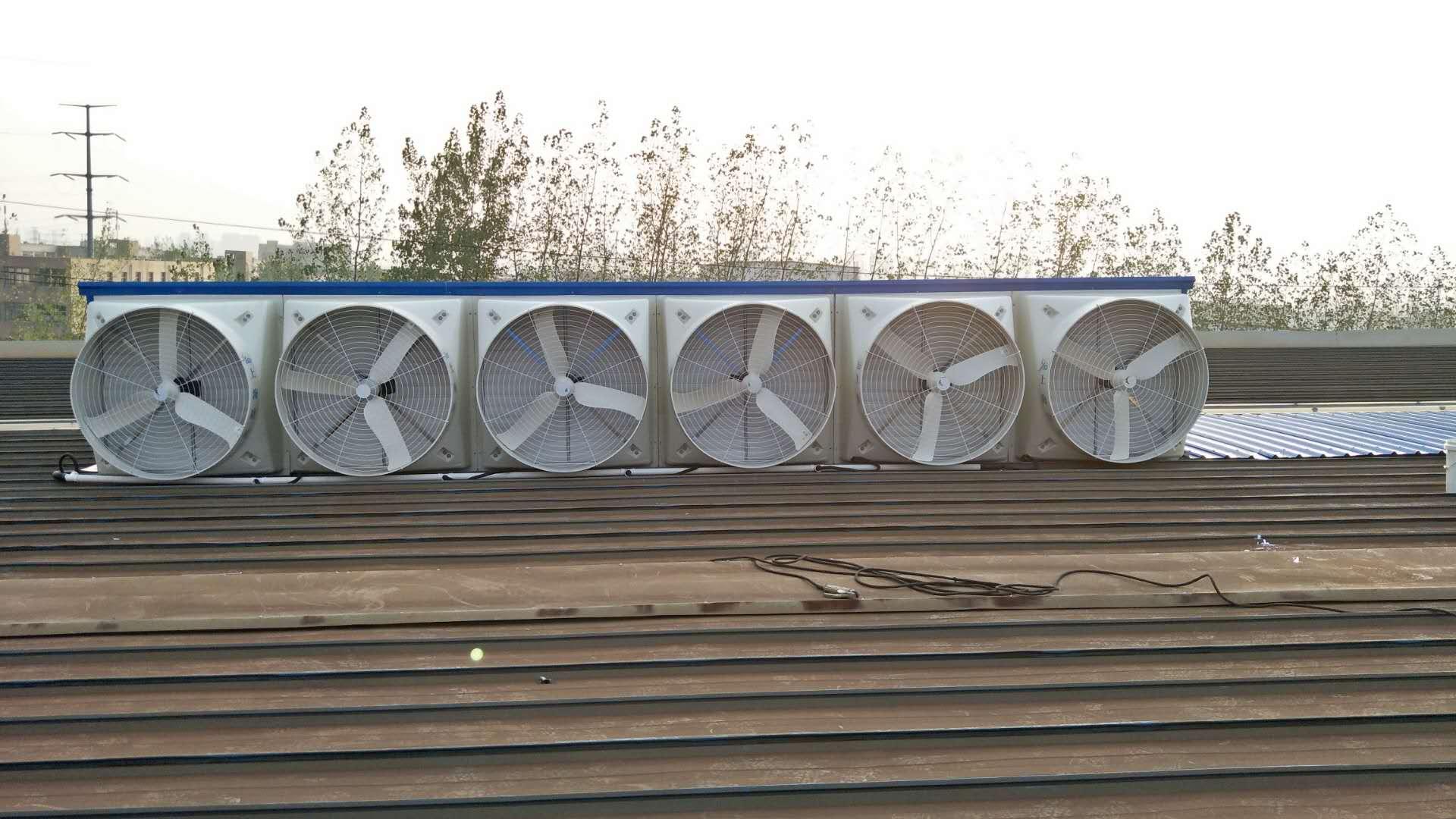 屋顶通风工程实例