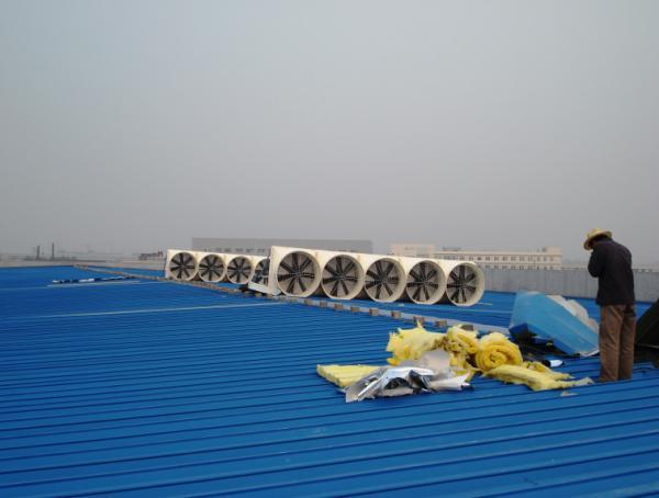 屋顶气楼安装实例工程