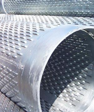 Bridge type filter pipe
