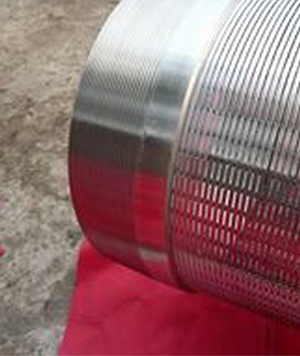 Trapezoidal filter pipe