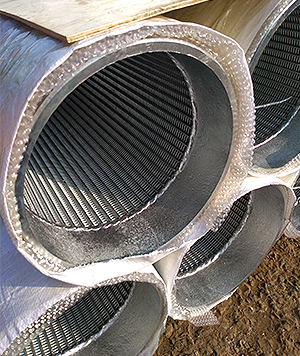 Stainless steel oil sieve tube