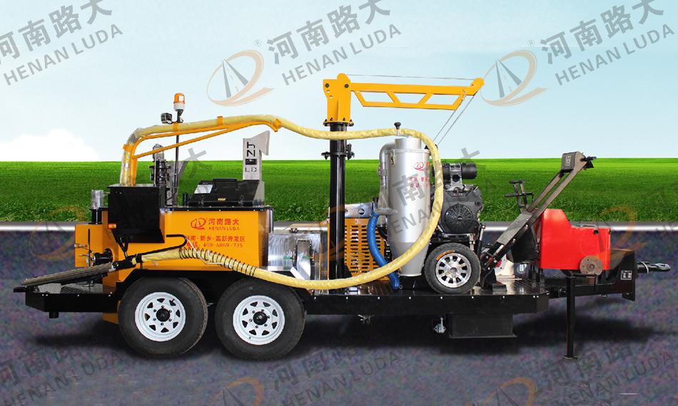 LD-Q650Y型牵引式路面灌缝机