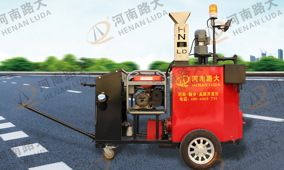 LD-Q200D型手推型路面灌缝机