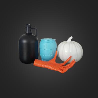 高端异形塑料瓶