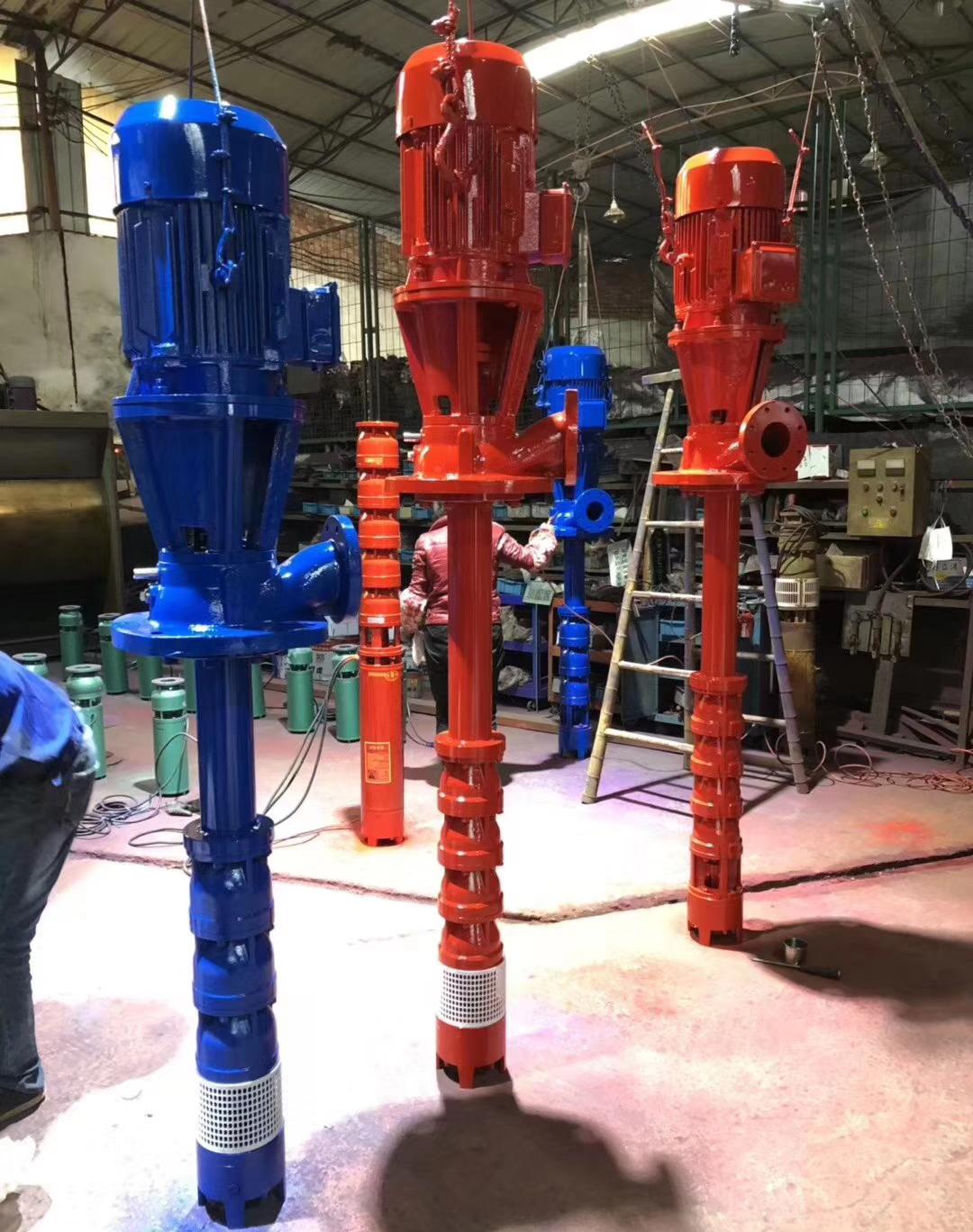 干式长轴消防泵液下泵轴流泵不锈钢高扬程井用潜水深井泵