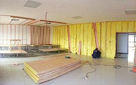 岩棉板在建筑保温与防火方面的优势