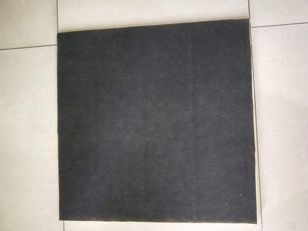 天花板单面贴黑玻璃棉/岩棉毡