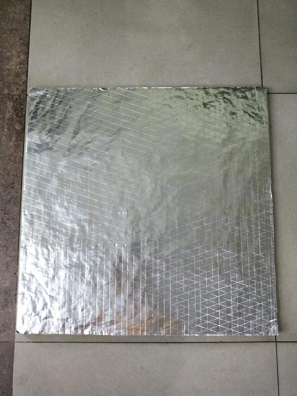 玻璃棉/岩棉天花板单面贴夹筋铝箔
