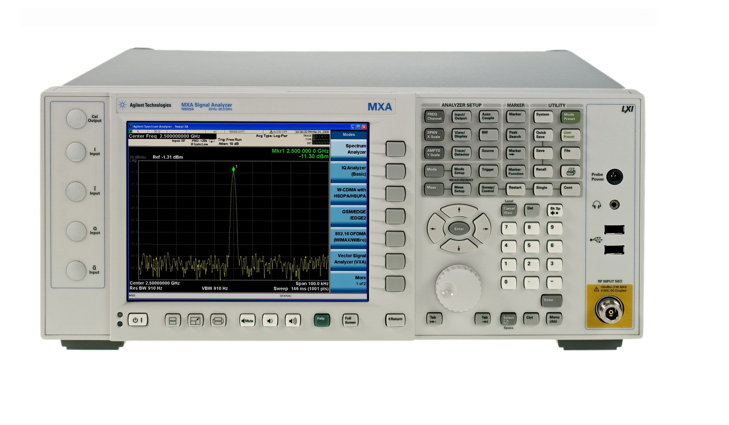 N9020A频谱分析仪KEYSIGHT/是德