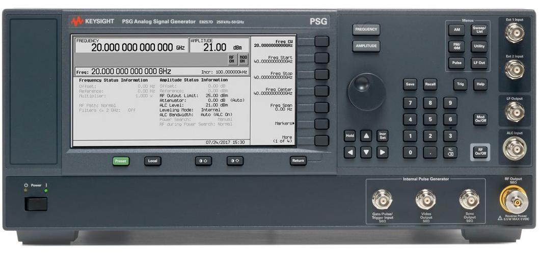 是德 E8257D 模拟信号发生器