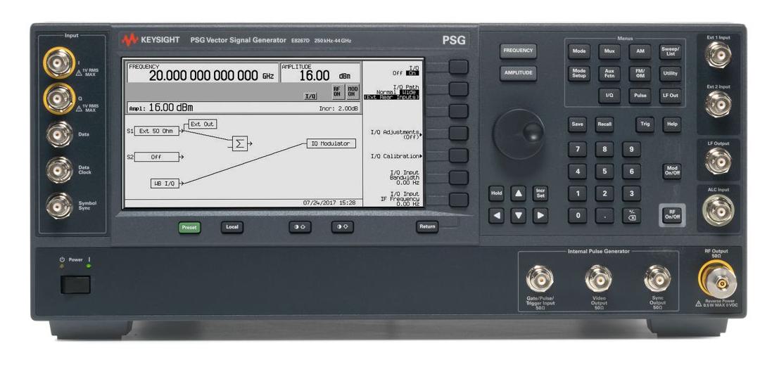 是德PCG系列E8267D矢量信号发生器