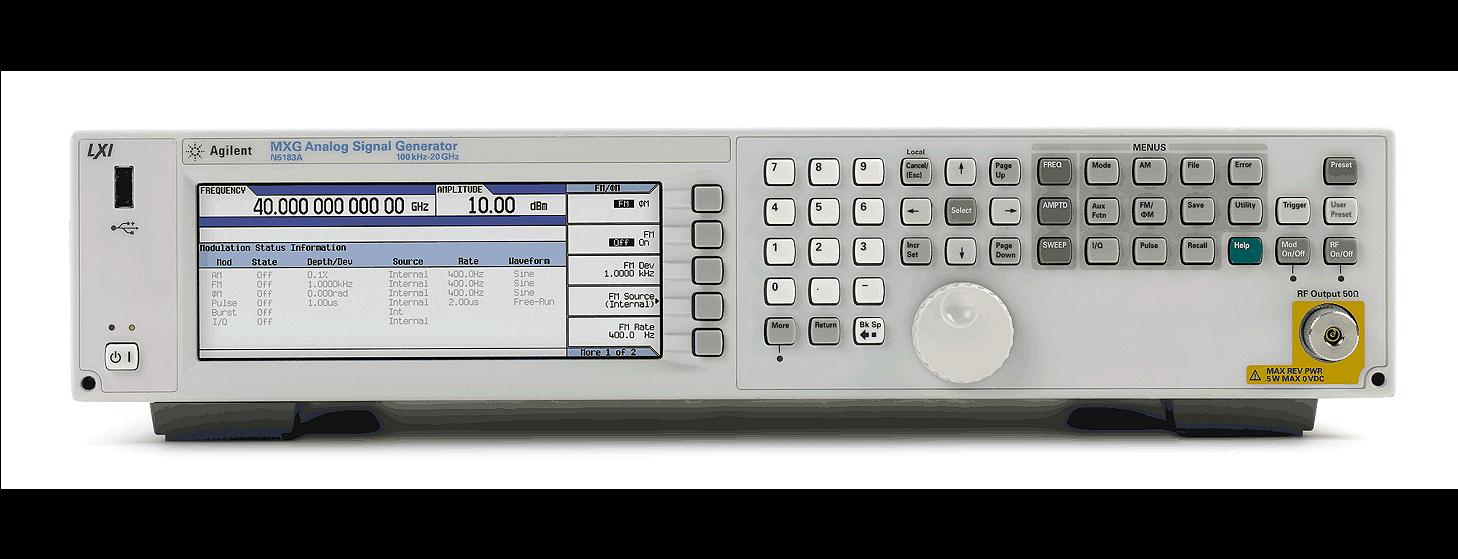 是德N5183A MXG微波模拟信号发生器