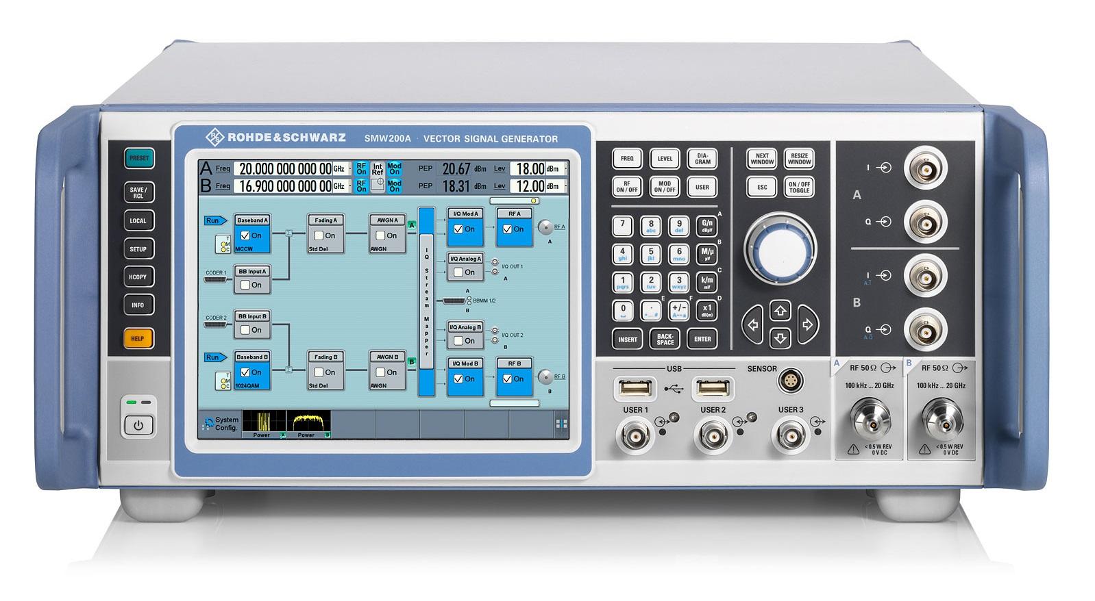 罗德SMW200A矢量信号发生器