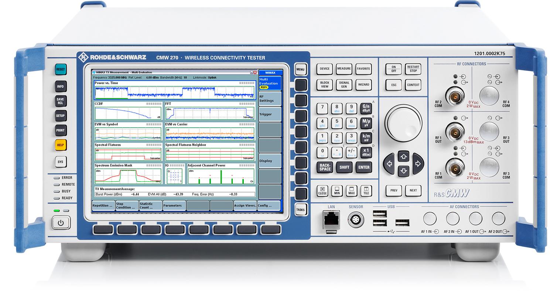 罗德CMW270无线通信综合测试仪