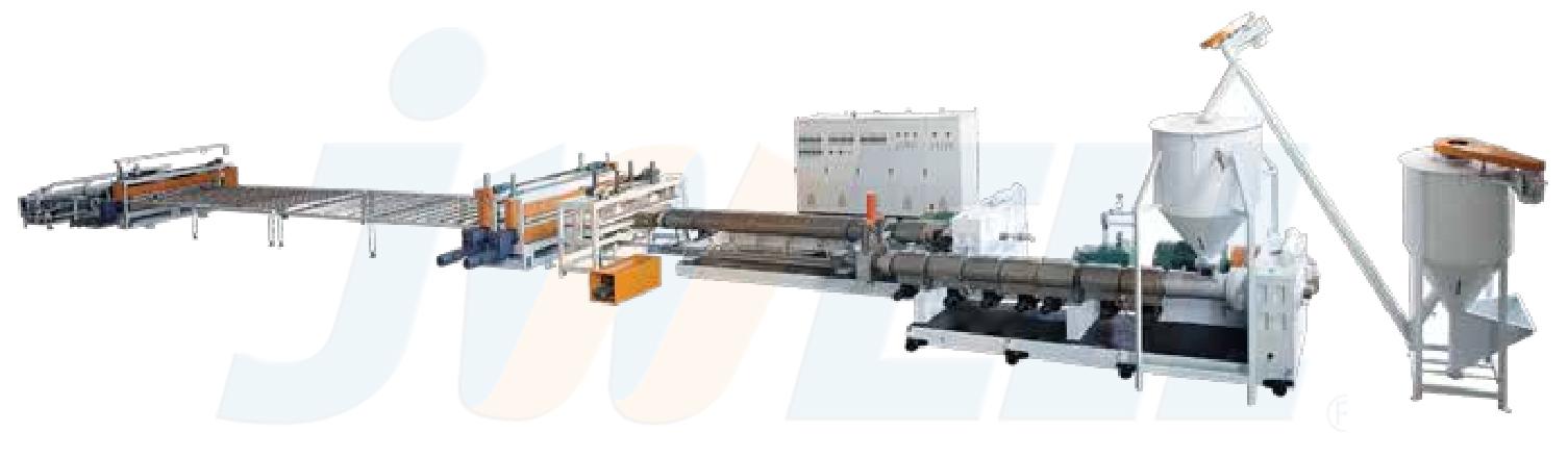 XPS保温板生产线(二氧化碳发泡)