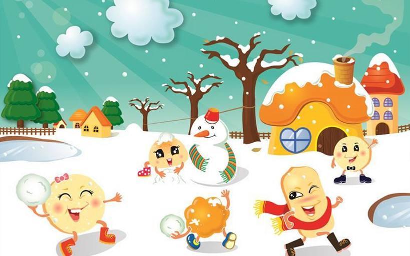 冬天送孩子去早教班的好处多多!